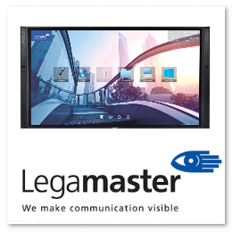 Legamaster XTX e-Screen Touchbildschirm HAYES media